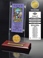 Super Bowl 32 Ticket & Game Coin Collection