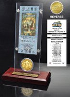 Super Bowl 33 Ticket & Game Coin Collection