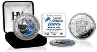 Calvin Johnson Silver Color Coin