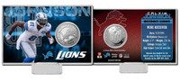 Calvin Johnson Silver Coin Card