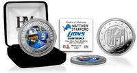 Matthew Stafford Silver Color Coin