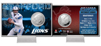 Matthew Stafford Silver Coin Card