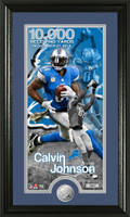 Calvin Johnson 10,000 Yards Supreme Photo Mint