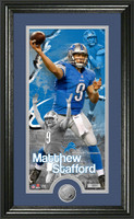 Matthew Stafford Supreme Minted Coin Panoramic Photo Mint