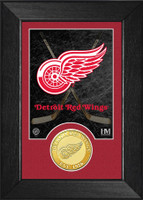 Detroit Red Wings Bronze Coin Mini Mint