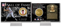 Al Kaline Class of 1980 Hall of Fame Bronze Coin Card