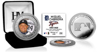 Miguel Cabrera Silver Color Coin