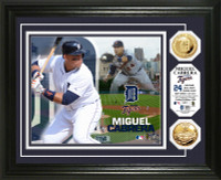 Miguel Cabrera Gold Coin Photo Mint