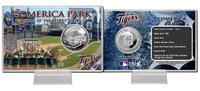 Comerica Park Silver Coin Card