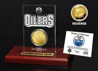 Edmonton Oilers Etched Acrylic Desktop