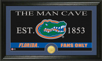 University of Florida Man Cave Bronze Coin Panoramic Photo Mint