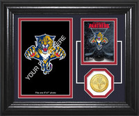 Florida Panthers Fan Memories Bronze Coin Desktop Photo Mint