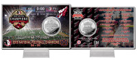 Florida State 2014 BCS National Champions Silver Coin Card