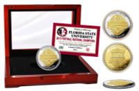 Florida State 2014 BCS National Champions Two-Tone Mint Coin