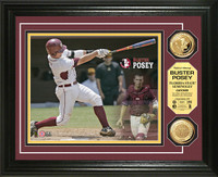 Buster Posey  Florida State Gold Coin Photo Mint