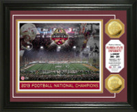 Florida State 2014 BCS National Champions Gold Coin Photo Mint