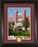 Florida State University Campus Traditions Bronze Coin Photo Mint