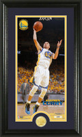 Stephen Curry Bronze Coin Panoramic Photo Mint