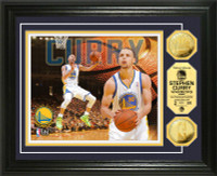Stephen Curry Gold Coin Photo Mint