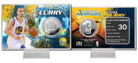 Stephen Curry Silver Coin Card