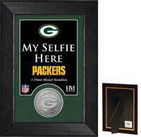 Green Bay Packers Selfie Minted Coin Mini Mint