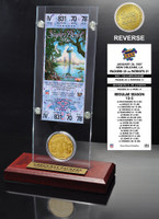 Super Bowl 31 Ticket & Game Coin Collection