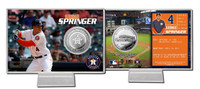 George Springer Silver Coin Card