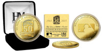 Houston Astros 50th Anniversary Gold Mint Coin