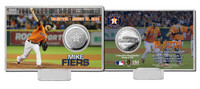Mike Fiers No-Hitter Silver Coin Card