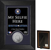 Houston Astros Selfie Minted Coin Mini Mint