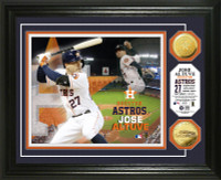 Jose Altuve Gold Coin Photo Mint