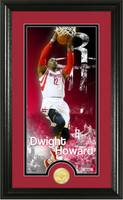 Dwight Howard Bronze Coin Panoramic Photo Mint