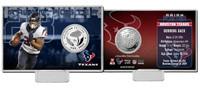 Arian Foster Silver Coin Card