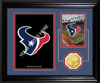 Houston Texans Framed Memories Desktop Photo Mint