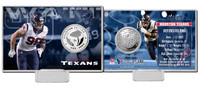 J.J. Watt Silver Coin Card