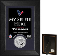 Houston Texans Selfie Minted Coin Mini Mint