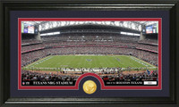 Houston Texans Stadium Bronze Coin Panoramic Photo Mint