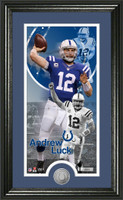 Andrew Luck Supreme Minted Coin Panoramic Photo Mint