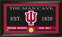Indiana University Man Cave Bronze Coin Panoramic Photo Mint