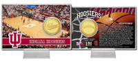 University of Indiana Basketball Bronze Coin Card