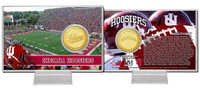Indiana University  Bronze Coin Card