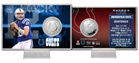 Andrew Luck Silver Coin Card