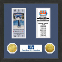 Indianapolis Colts  SB Championship Ticket Collection