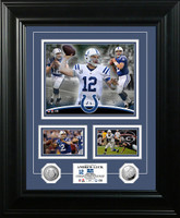 Andrew Luck Marquee Silver Coin Photo Mint
