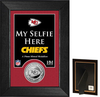 Kansas City Chiefs Selfie Minted Coin Mini Mint