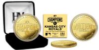 Kansas City Royals 2014 AL Champions Gold Mint Coin