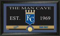 Kansas City Royals The Man Cave Bronze Coin Panoramic Photo Mint
