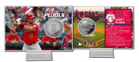 Albert Pujols Silver Coin Card