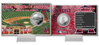 Angels Stadium Silver Coin Card