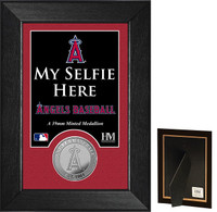 Los Angeles Angels Selfie Minted Coin Mini Mint